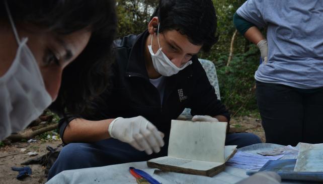La Escuela de Archivología presente en el rescate de las Sierras Chicas