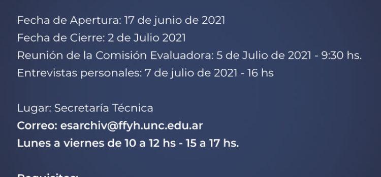 """Llamado a selección de antecedentes: """"Instituciones Argentinas"""" Prof. Titular Simple"""