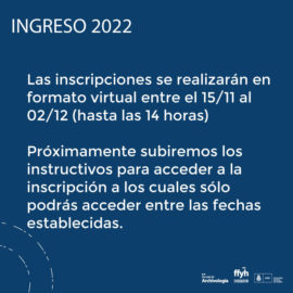Ingreso 2022