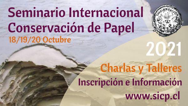 Seminario Internacional de Conservación del Papel