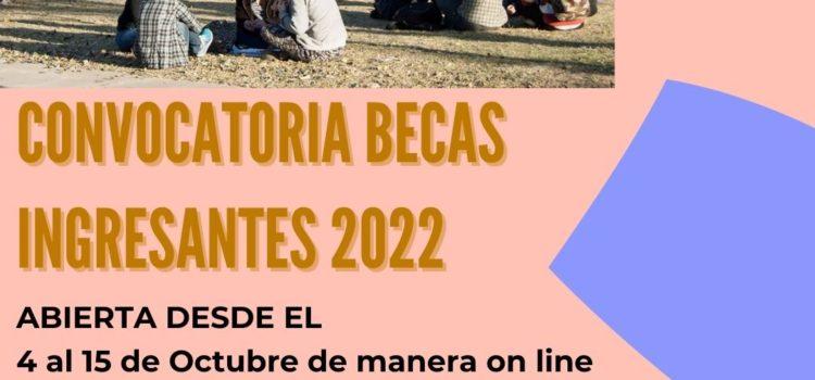 Becas Ingresantes 2022 – SAE