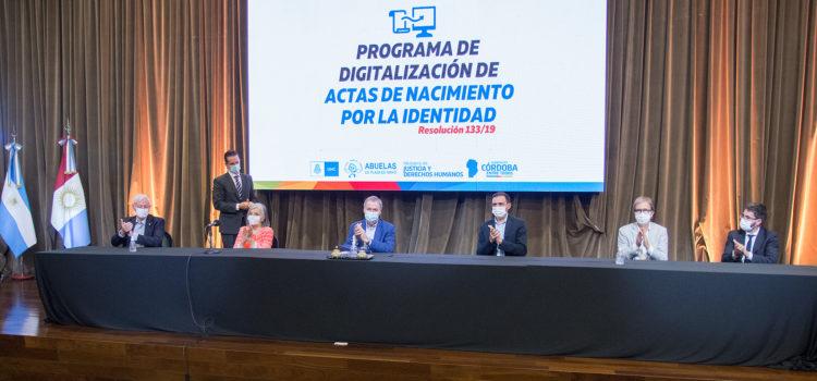 La Facultad de Ciencias Económicas de la UNC digitalizará actas de nacimiento entre 1976 y 1983