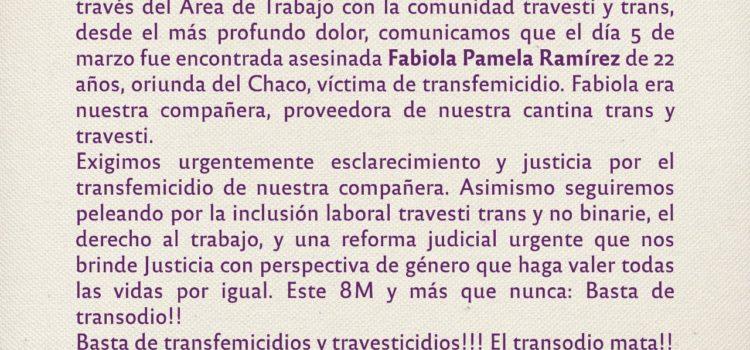 Justicia por Fabiola