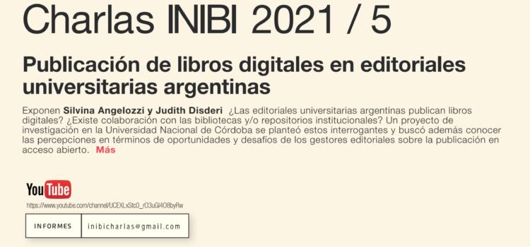 Publicación de libros digitales en editoriales universitarias argentinas