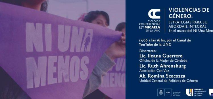 Nueva conferencia sobre violencias de género en el marco de la Ley Micaela
