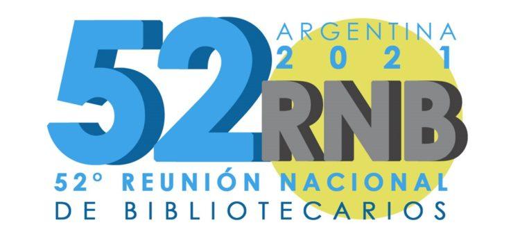 Sitio web de la 52° Reunión Nacional de Bibliotecarios