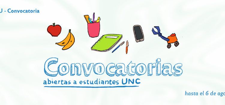Convocatorias abiertas a estudiantes para participar en proyectos de Extensión Universitaria