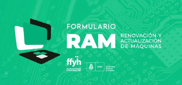 Programa RAM- Renovación y actualización de máquinas