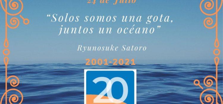 24 de Julio 2021 Cumplimos 20 años de Cooperación