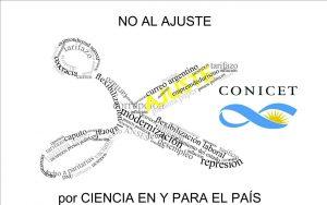 No al Ajuste CONICET