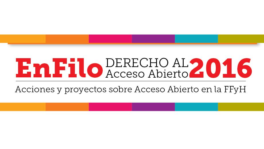 EnFilo 2016. Derecho al Acceso Abierto
