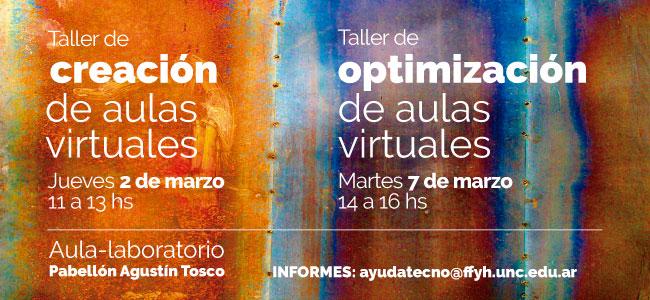 Taller de optimización de aulas virtuales