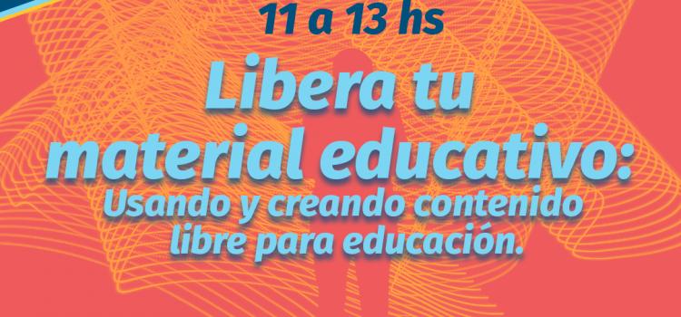 "FLISoL 2019: ""Liberá tu material educativo"""